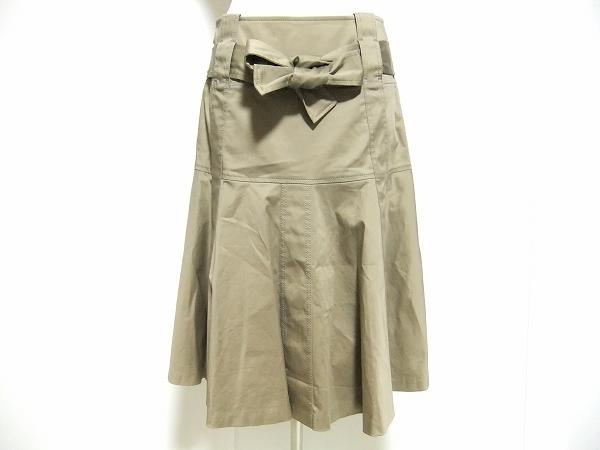 マダムジョコンダ リボンベルト付きスカート