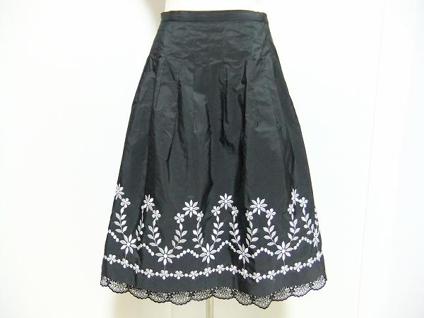 銀座マギー 刺繍入りスカート