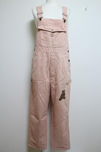 ピンクハウス クマ刺繍オールインワン