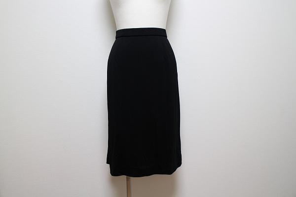 レオナール 刺繍裏地付きスカート