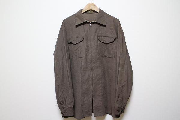 ワイズフォーメン 長袖ジップアップジャケット