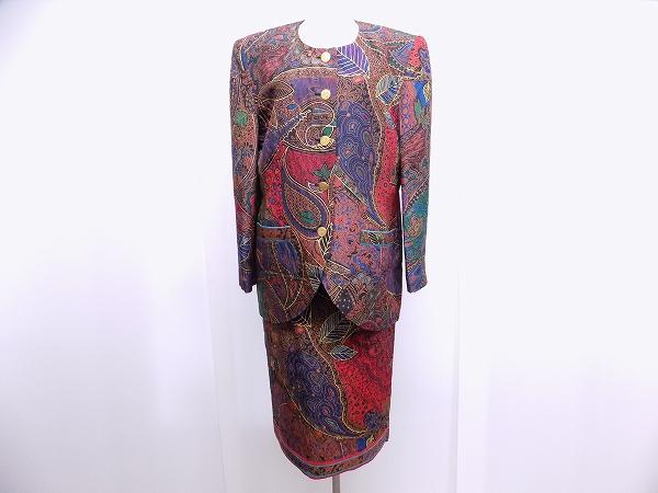 レオナール スカートスーツ