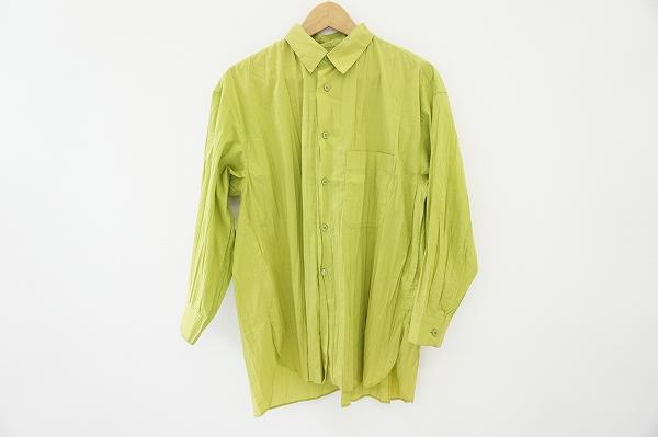 イッセイミヤケ 長袖シャツ