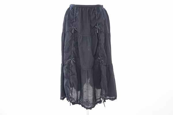 ピンクハウス パレオ付きスカート