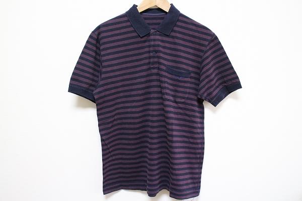パパス 半袖刺繍ポロシャツ