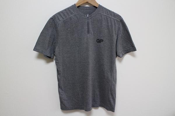 パパス 半袖ジップTシャツ