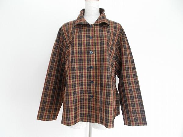 センソユニコ チェックシャツ
