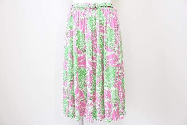 プラダ シルクスカート