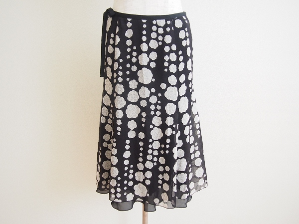 ハロッズ 花柄スカート