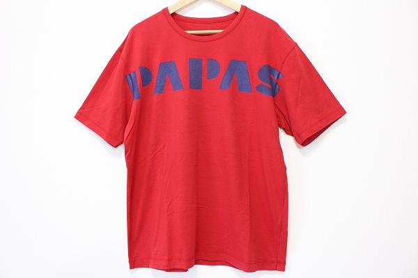 パパス ロゴTシャツ
