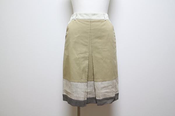 エトロ ボーダースカート