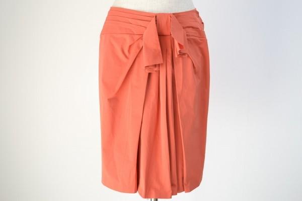 ランバン ひざ丈スカート