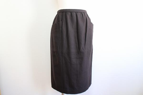 レリアン ストレッチロングスカート