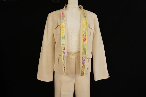 レオナール パンツスーツ