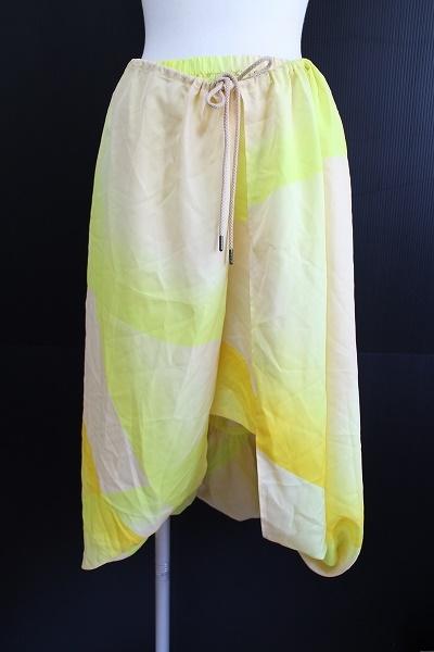 イッセイミヤケ 変形ロングスカート