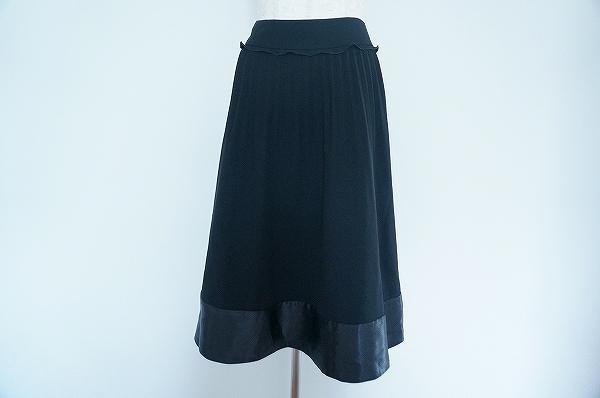 トゥービーシック 異素材スカート