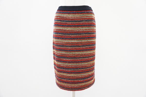 イヴサンローラン ボーダースカート