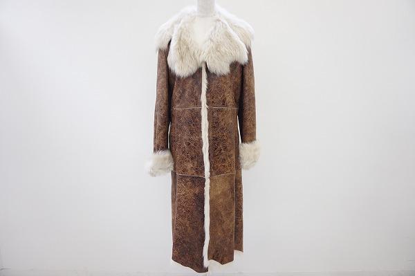 シズカコムロ4298 羊革コート