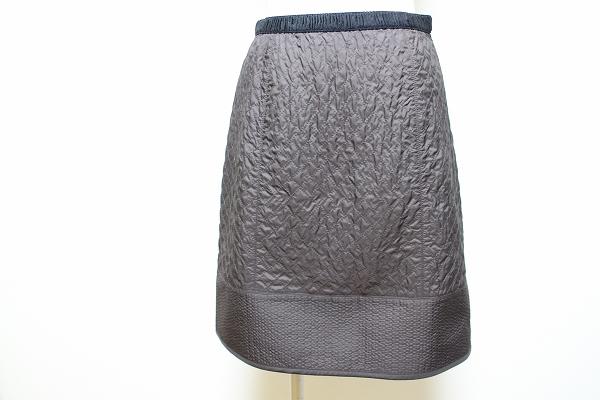 トゥービーシック キルティング風スカート