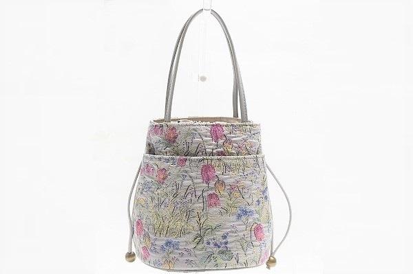 バラ色の暮し ハンドバッグ