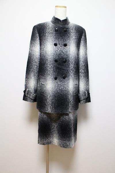 ジュンアシダ ウールスカートスーツ