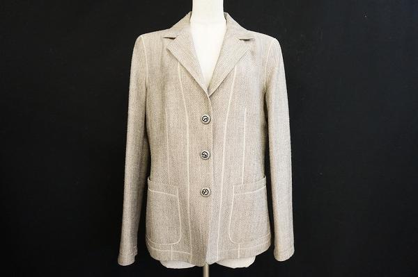 ジョルジオアルマーニ シルク混ジャケット