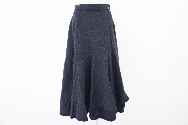 トリココムデギャルソン ウールスカート