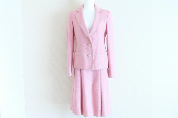 ジュンコ シマダ49av. シルク混スカートスーツ