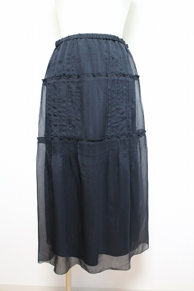 ヒロココシノ シフォンスカート