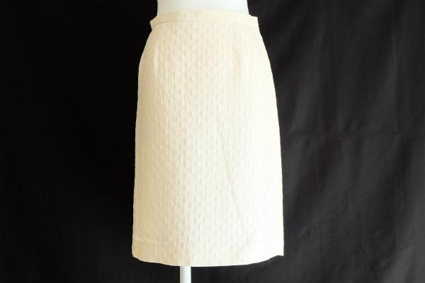 コージワタナベスティル シルク混スカート