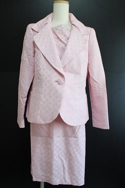 銀座マギー シルクスカートスーツ