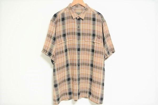 パパス チェックシャツ