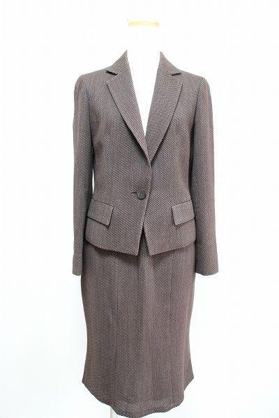 ランバン スカートスーツ