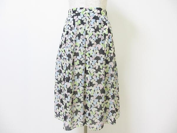 コージワタナベスティル 蝶柄スカート
