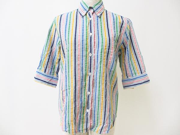 ポールスミス ストライプ半袖シャツ