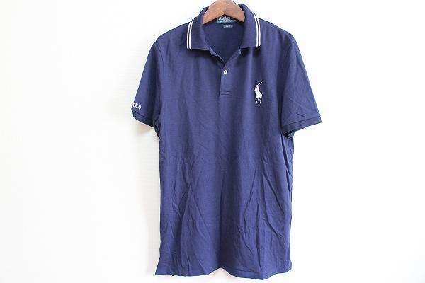 ラルフローレン 刺繍半袖ポロシャツ