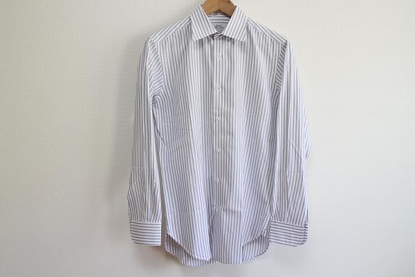 ユナイテッドアローズ ストライプ長袖ドレスシャツ
