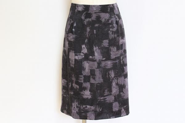 バナナリパブリック シルクタイトスカート