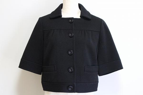 スピック&スパン 五分袖ジャケット