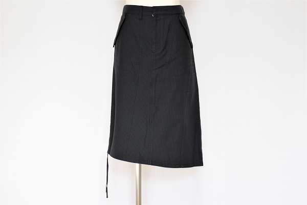 アルチザン アシンメトリーギャザースカート