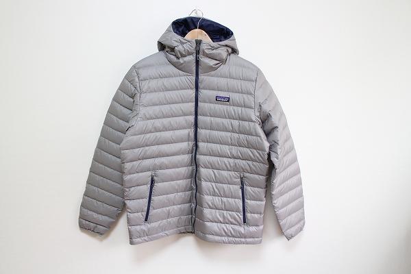 パタゴニア ダウンフード付セーター