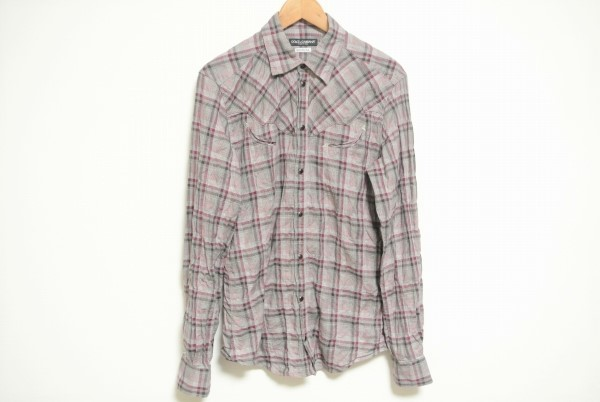 ドルチェ&ガッバーナSICILIA チェックシャツ