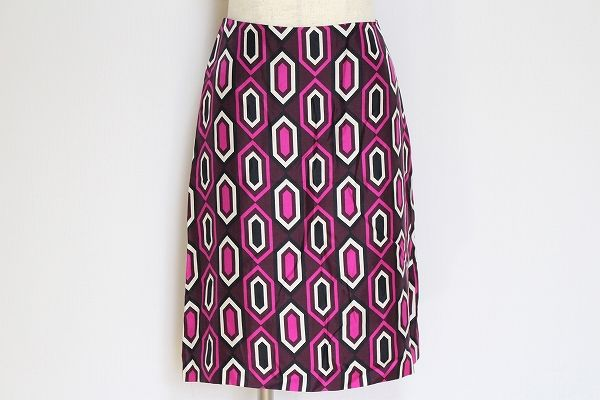 ヒューゴボス シルクタイトスカート