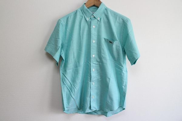 ラコステ 半袖ボタンダウンシャツ