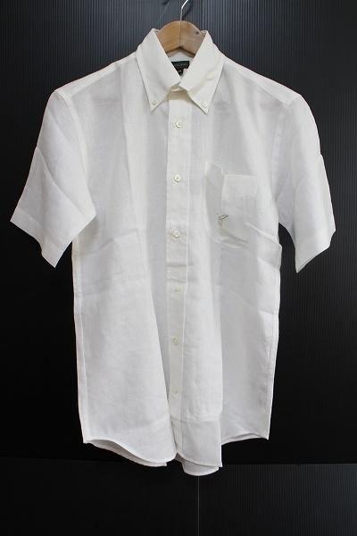 ヘンリーコットンズ リネン半袖シャツ