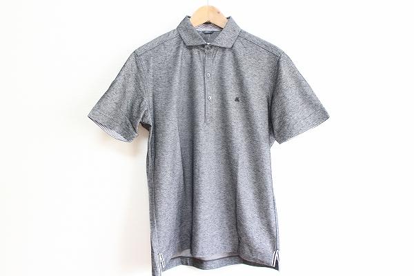 アレグリ 麻混半袖ポロシャツ