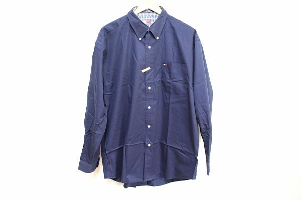 トミーヒルフィガー 刺繍長袖シャツ