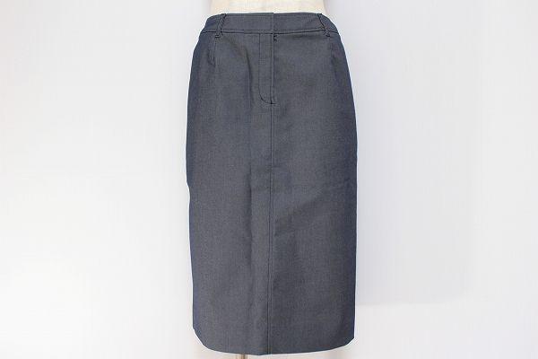 バーバリーロンドン ポケット付きチェックタイトスカート