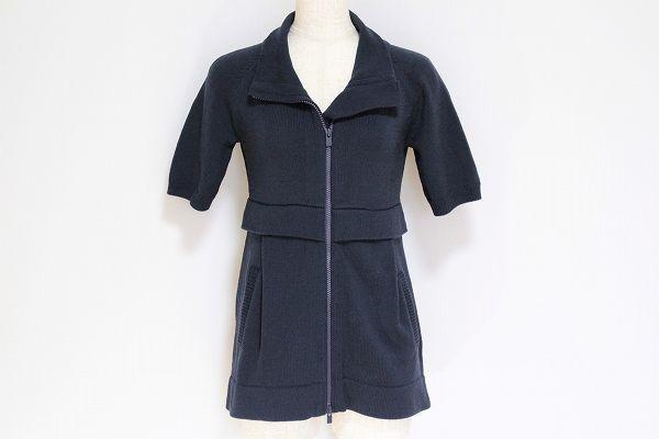 セオリー 半袖ニットジャケット