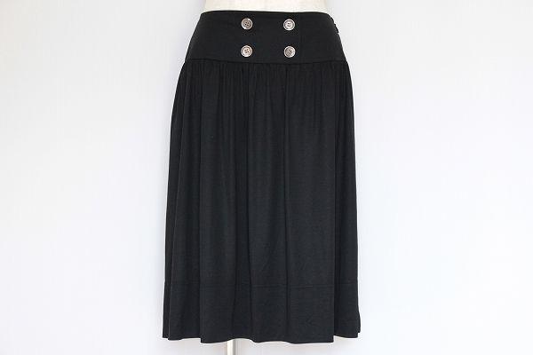 バーバリーロンドン 膝丈ギャザースカート
